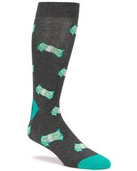 K. Bell - Fun Money Crew Socks - Lyst