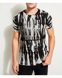 Guess - Short-sleeve More Night Foiled Tie-dye T-shirt - Lyst