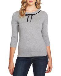 Cece - Ribbon Detail Sweater - Lyst