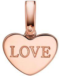 Michael Kors - Custom Kors Collection Sterling Silver Heart Charm - Lyst
