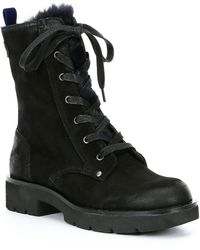 Otbt - Summit Faux Fur Lined Booties - Lyst