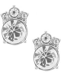 Givenchy - Crystal Button Earrings - Lyst