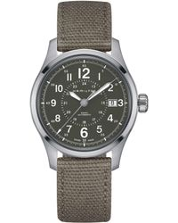 Hamilton - Khaki Field Mechanical Automatic Watch - Lyst