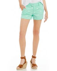 Freestyle - Embroidered Icon Shorts - Lyst