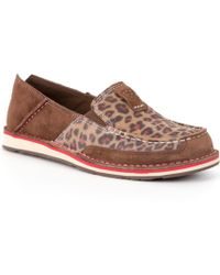 Ariat - Cruiser Animal-print Slip-ons - Lyst