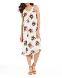 Rossmore. - By Ppla Primrose Floral-printed A-line Dress - Lyst