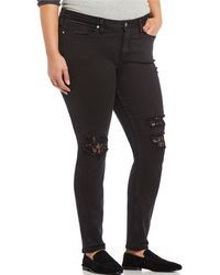 Silver Jeans Co. - Plus Size Aiko Skinny Jeans - Lyst
