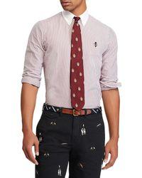 Polo Ralph Lauren - Vertical Stripe Lightweight Oxford Long-sleeve Woven Shirt - Lyst