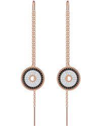 Swarovski - Lollypop Chain Threader Earrings - Lyst