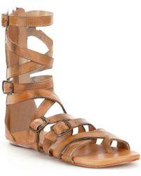Bed Stu - Seneca Gladiator Flat Sandals - Lyst