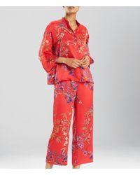 N By Natori - Eden Floral Satin Pajamas - Lyst