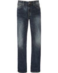 Silver Jeans Co. - Craig Stretch Easy Fit Bootcut Dark Wash Jeans - Lyst