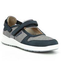 Mephisto - Rejine Nubuck Leather Mary Jane Sneakers - Lyst