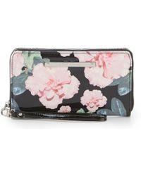 Betsey Johnson - Floral Zip-around Wallet - Lyst
