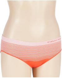 Calvin Klein - Seamless Illusions Hipster Panty - Lyst
