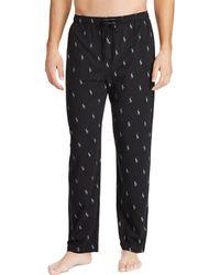 Polo Ralph Lauren - Big & Tall Pony-print Knit Pajama Pants - Lyst