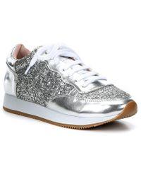Kate Spade - Felicia Glitter Runner Sneakers - Lyst