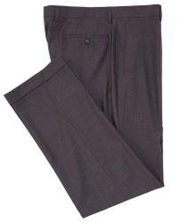 b1ecc4016 Ralph By Ralph Lauren - Flat-front Straight Fit Solid Dress Pants - Lyst