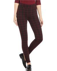 Liverpool Jeans Company - Sienna Pull-on Plaid Ponte Leggings - Lyst
