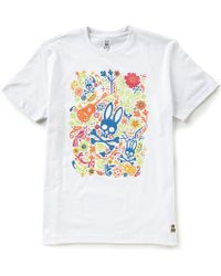Psycho Bunny - Graffiti Graphic Short-sleeve Tee - Lyst