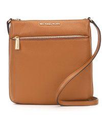 MICHAEL Michael Kors | Riley Small Flat Cross-body Bag | Lyst