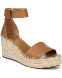 Franco Sarto - Clemens Ankle Strap Wedge Sandal - Lyst