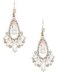 Kate Spade | Cascade Chandelier Statement Earrings | Lyst