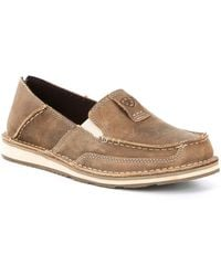 Ariat - Cruiser Leather Slip-ons - Lyst