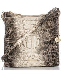 Brahmin - Melbourne Collection Katie Veranda Crocodile-embossed Crossbody - Lyst