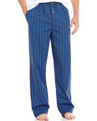 Polo Ralph Lauren - Woven Plaid Pajama Pants - Lyst