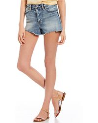 Silver Jeans Co. - Mom Shorts - Lyst