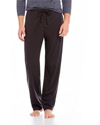 Hart Schaffner Marx - Liquid Cotton Pajama Pants - Lyst