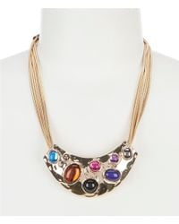 Dillard's - Tailored Mosaic Sweep Necklace - Lyst