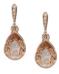 Givenchy - Golden Shadow Drop Earrings - Lyst