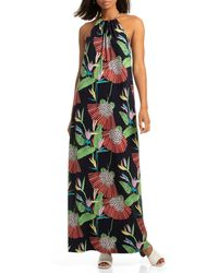 1187efed66abf Trina Turk Prisma Swim Cover Up Maxi Dress - Lyst