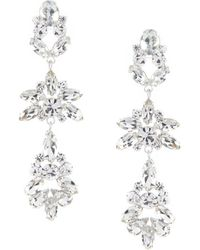 Cezanne - Chandelier Cluster Statement Earrings - Lyst