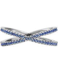 Michael Kors - Custom Kors Sterling Silver Nesting Ring - Lyst