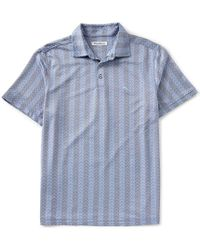 Tommy Bahama - Chevron Cantina Short-sleeve Polo Shirt - Lyst