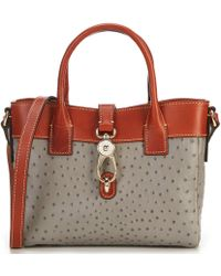 Dooney & Bourke - Ostrich Collection Amelie Tote Bag - Lyst
