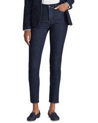 Lauren by Ralph Lauren - Petite Striped Regal Skinny Jean - Lyst