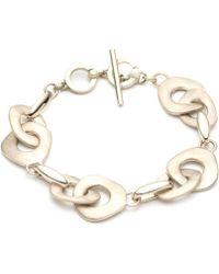 Carolee - Gold-tone Large Link Bracelet - Lyst