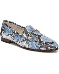 c8122da63e5 Sam Edelman Loraine Leather Loafers in Pink - Lyst