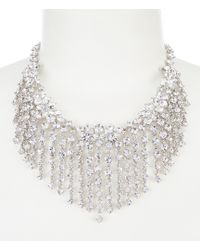 Givenchy - Fringe Collar Statement Necklace - Lyst