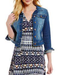 Jessica Simpson - Jeanswear Pixie Denim Jacket - Lyst