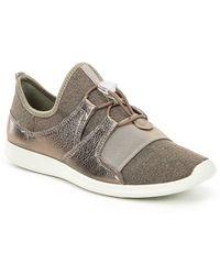 ECCO Women's Sense Elastic Toggle Metallic Sneakers WOdBOq2bEs