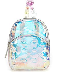 Betsey Johnson - The Future Is Clear Iridescent Lips Print Mini Backpack - Lyst
