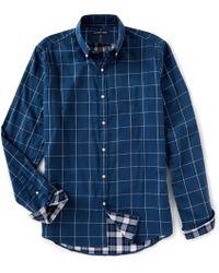 Michael Kors - Slim-fit Otis Check Long-sleeve Woven Shirt - Lyst