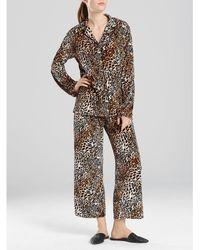 N By Natori - Lush Leopard Velvet Pajamas - Lyst