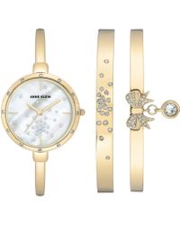 Anne Klein - Watch And Bangle Box Set - Lyst