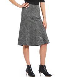 Jones New York - Directional Panel Gore Skirt - Lyst